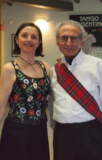 il sindaco giorgio e signora