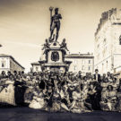 Gran Ballo Risorgimentale in Piazza Minghetti